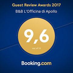 punteggio booking.com 2017